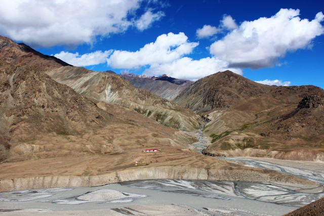 The rugged rugged Spitian terrain
