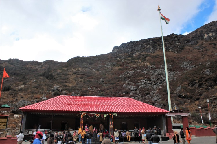 The legendary Baba Mandir