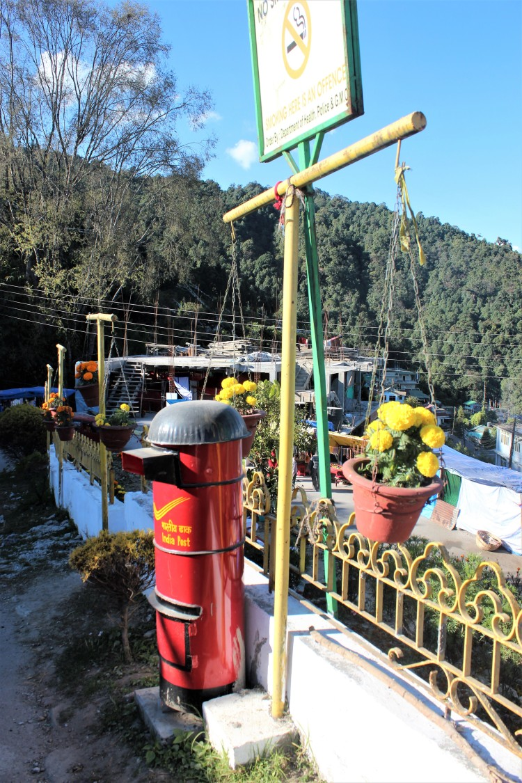 The little red thing at Rumtek Monastery