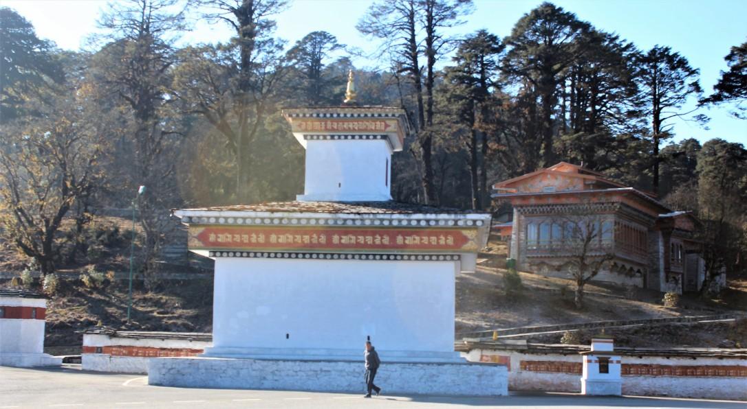 structure, landscape, bhutan, click