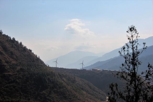 windmill, punakha