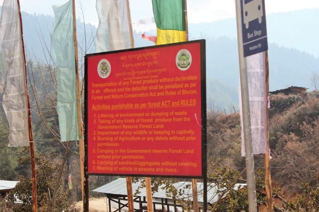 bhutan, nature, serious