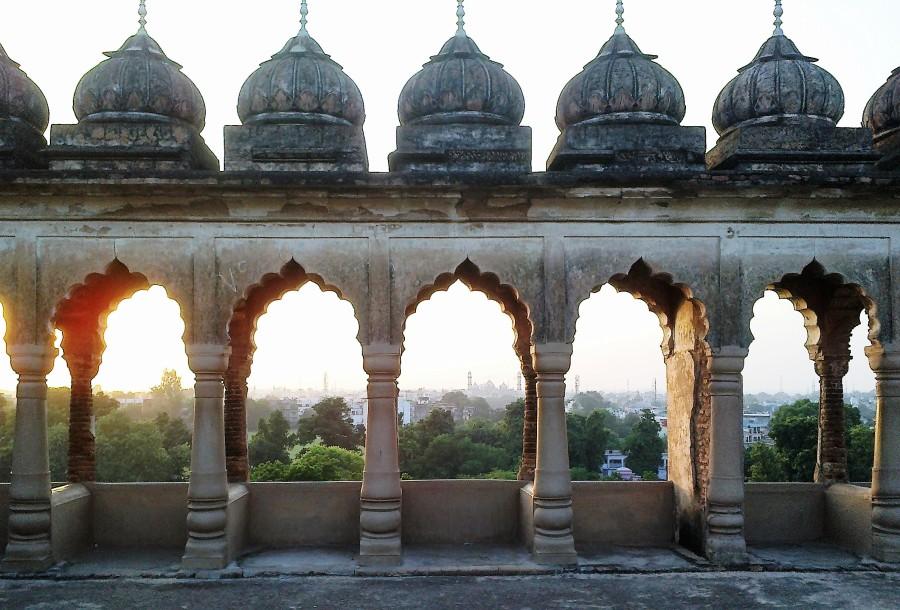 symmetry, like, bada imambargah, lucknow, uttar pradesh, india