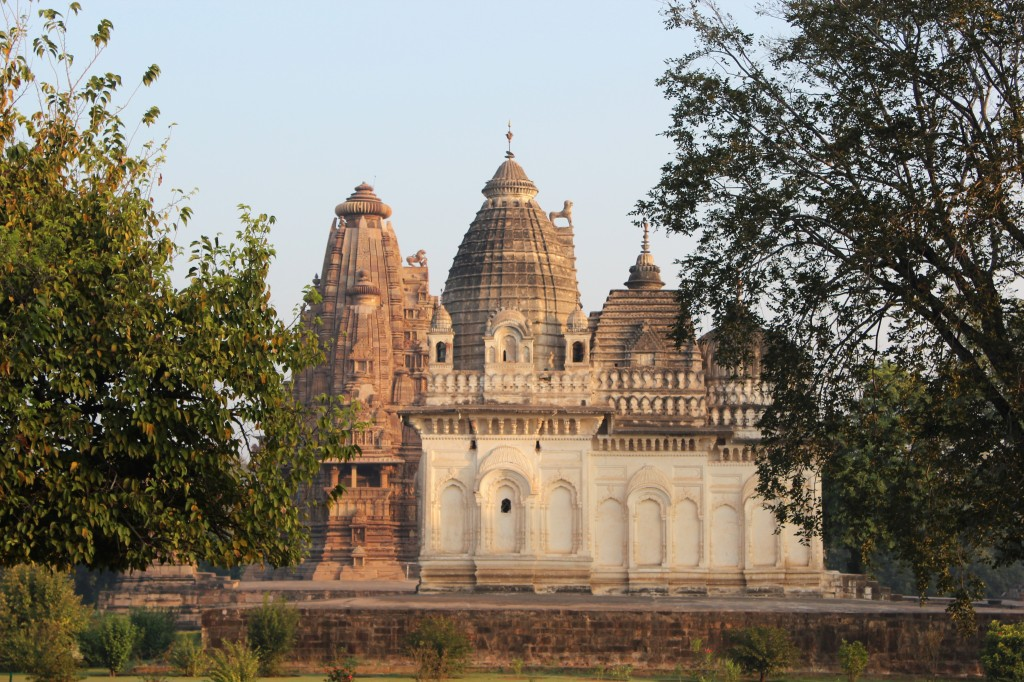 parvati temple, relatively new