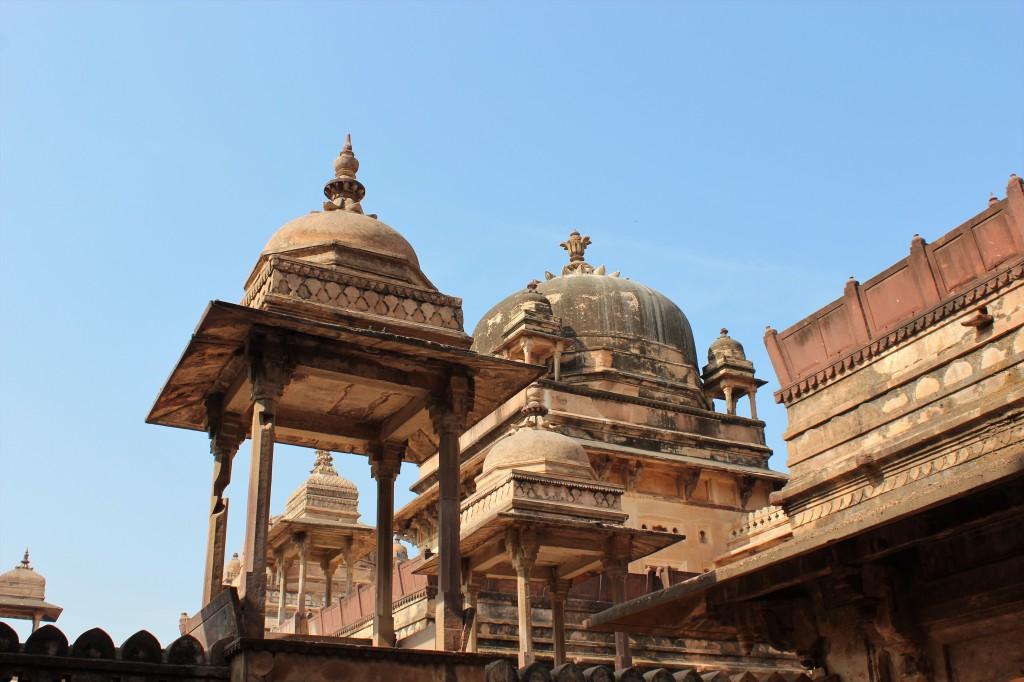 beautiful, palace, jahangir mahal, orchha fort, orchha