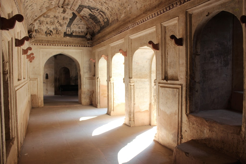 wall, decorate, mural, mythology, bundelkhand history, orchha, madhya pradesh