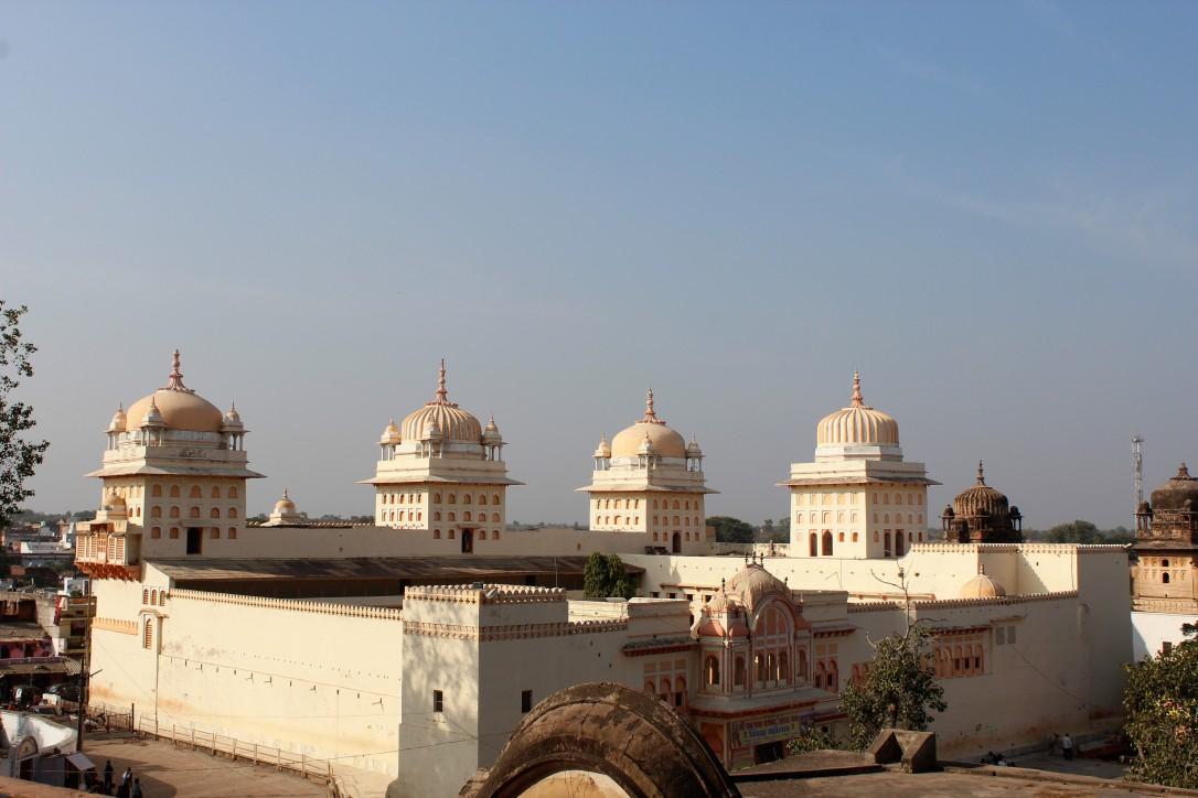 Raja Ram Mandir. orchha, madhya pradesh