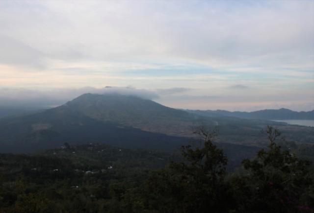 Mount Batur, dusk