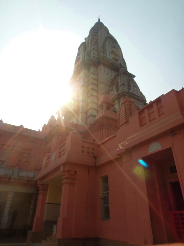 new Vishwanath Mandir, shikhar, banaras hindu university, bhu, varanasi, uttar pradesh, india