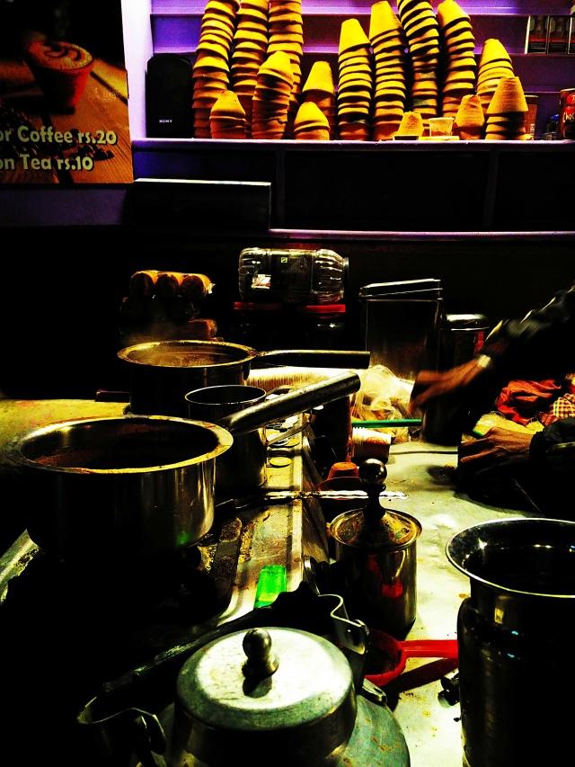Happiness, kulhad chai, cold night, taste of benares, assi ghat, varanasi, uttar pradesh, india