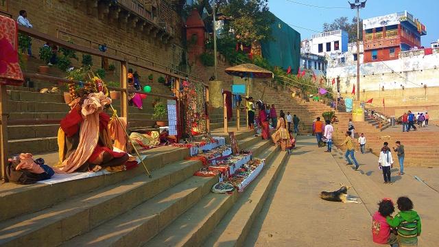 Banaras Ghats, varanasi, uttar pradesh, india