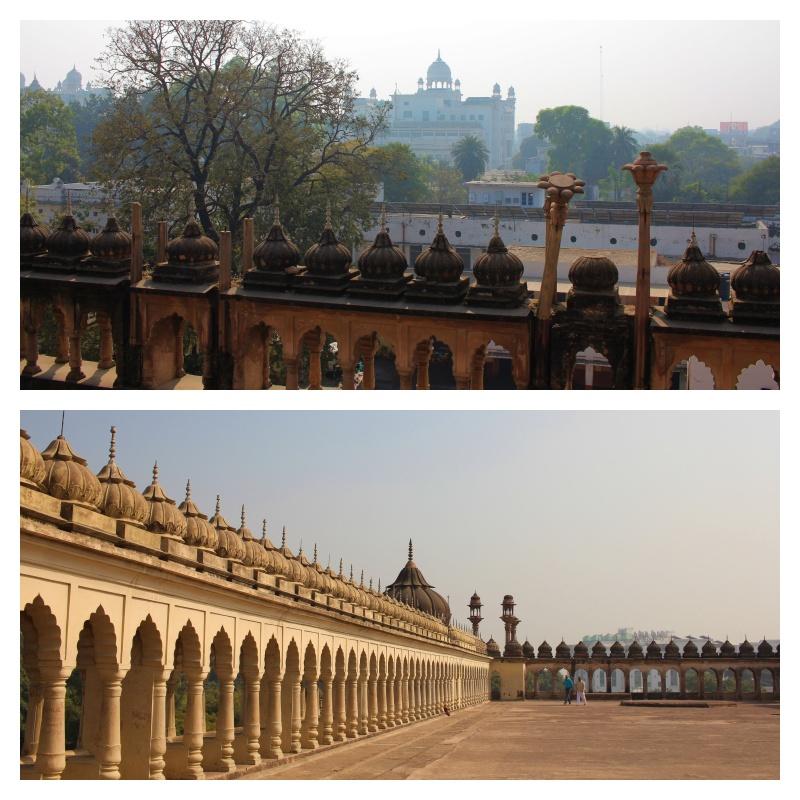 Bara Imam Bara, roof, uttar pradesh, lucknow, india