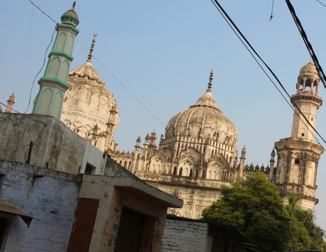 jama masjid, lucknow, uttar pradesh, india