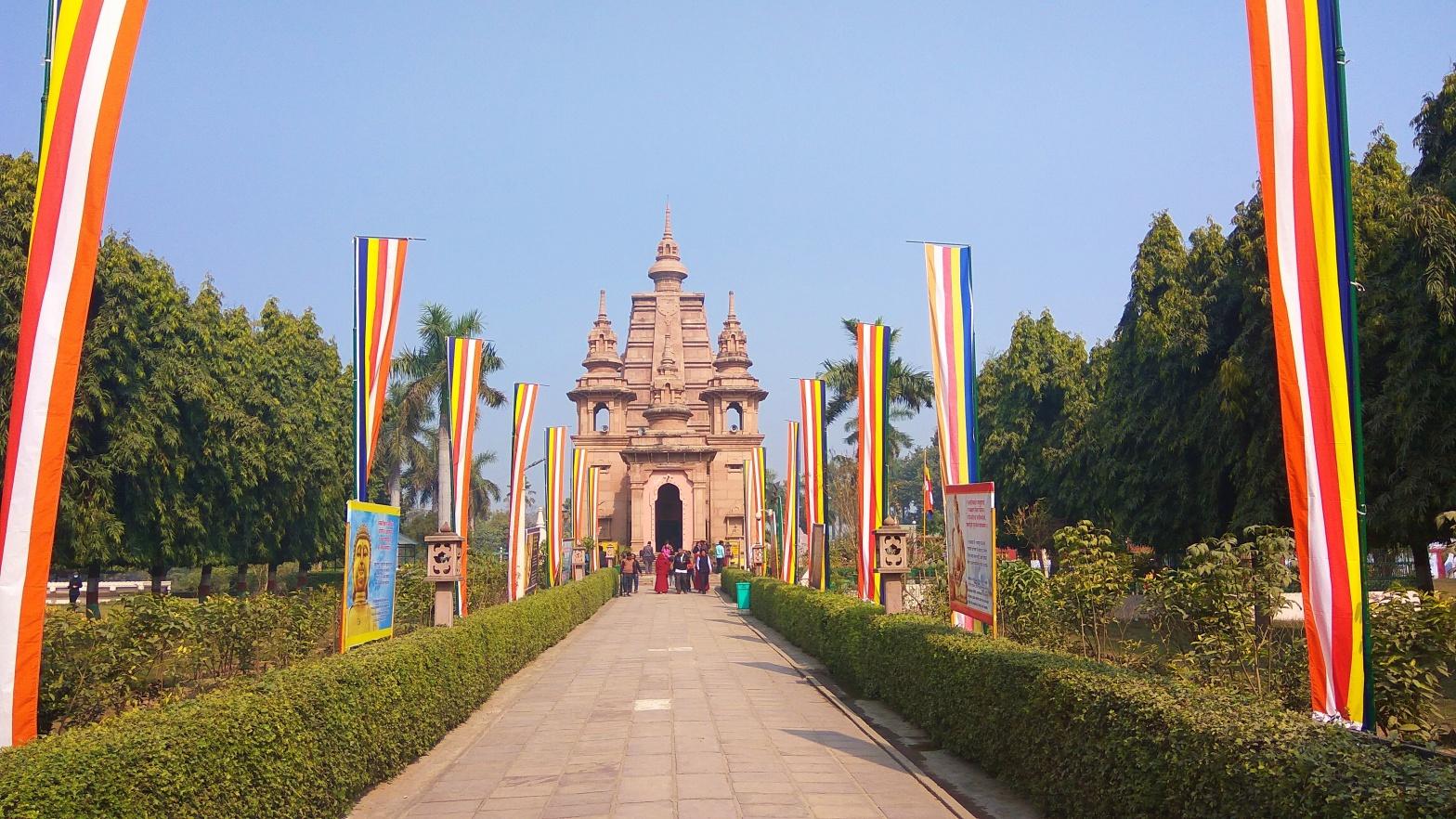 Mulagandha Kuti Vihara, Sarnath, Varanasi, Uttar Pradesh, India