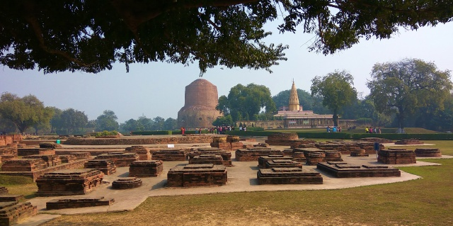 commemorate, Buddha, Sarnath, varanasi, uttar pradesh, india