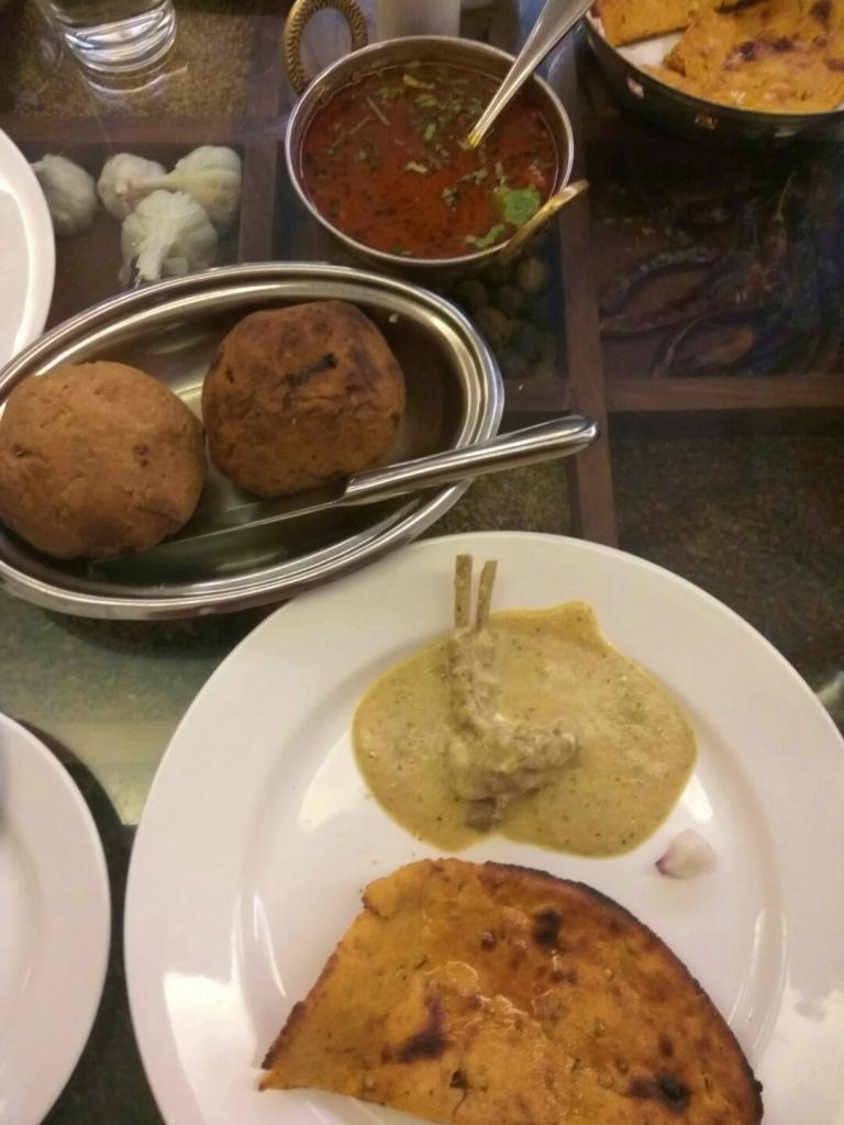 Keema Baati, Missi Roti, Safed Maas, Spice Court, Jaipur