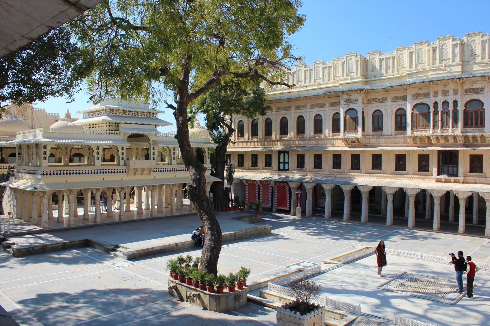 Laxmi Chowk, City Palace Museum
