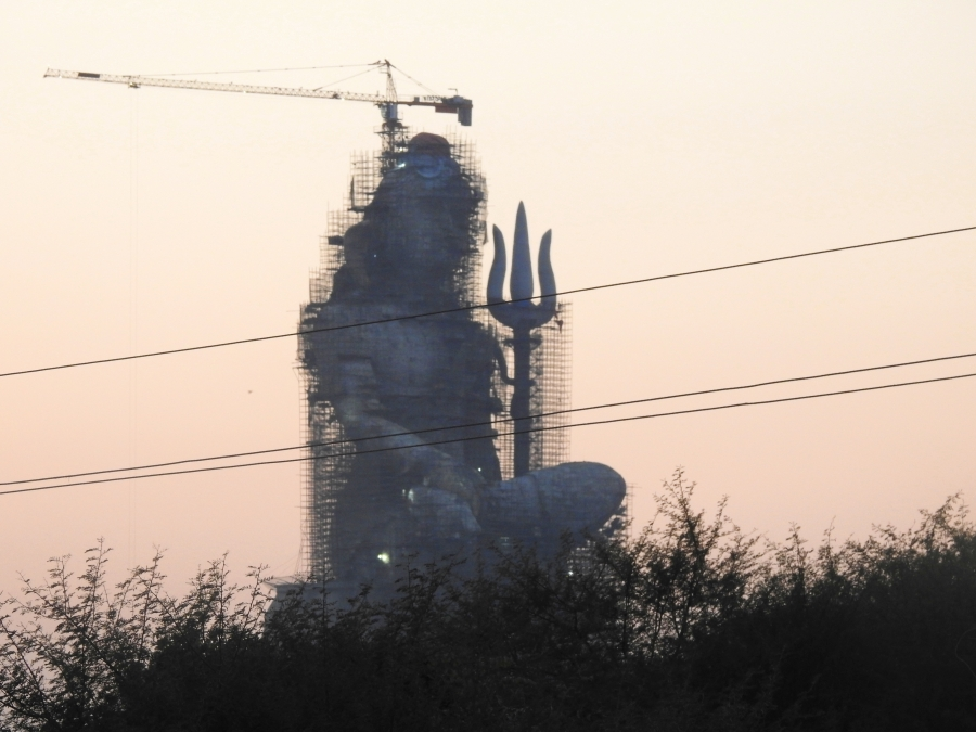 statue of belief, nathdwara, rajasthan, india